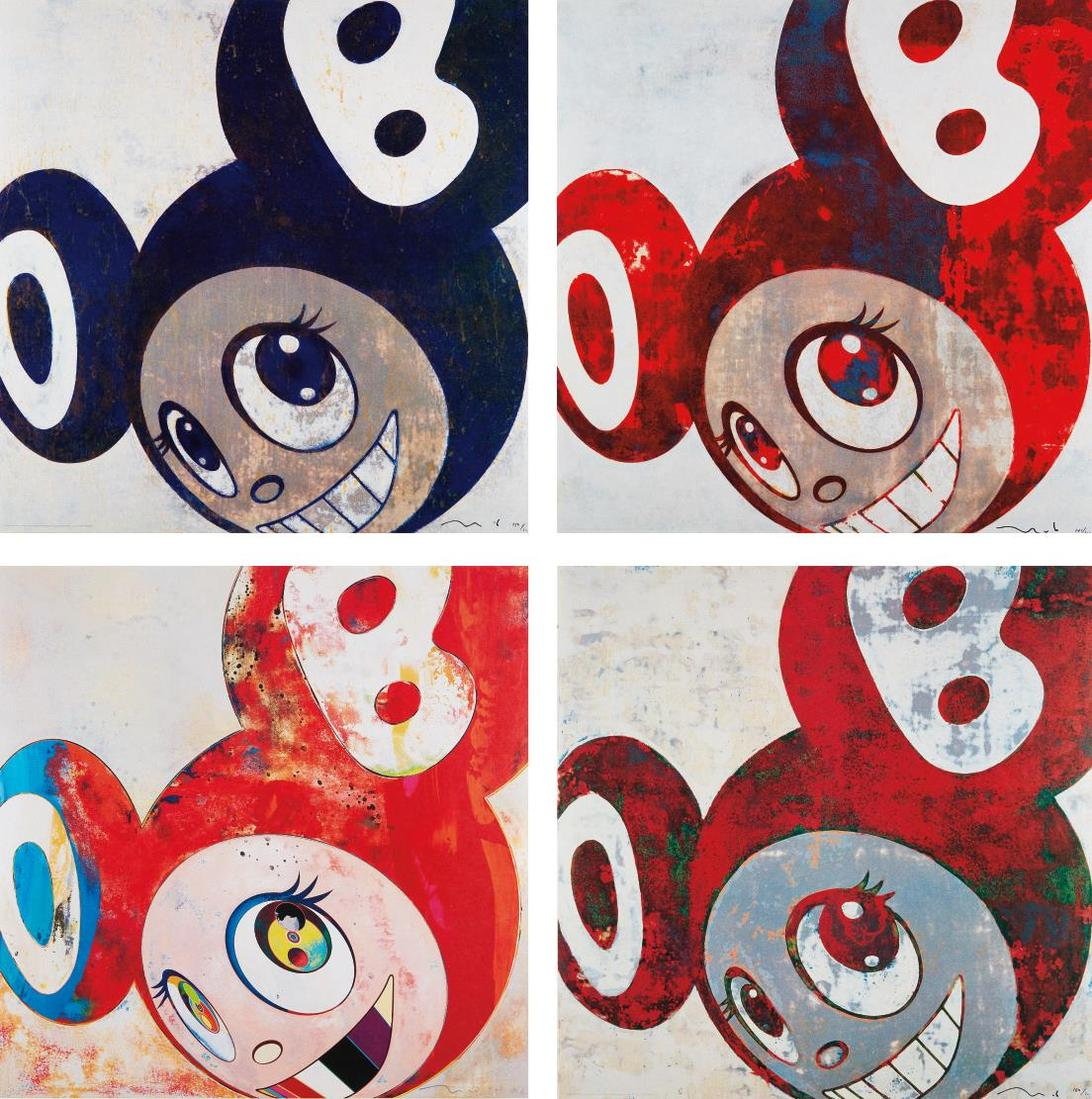 Takashi Murakami-And Then, And Then And Then And Then And Then; And Then, And Then And Then And Then And Then; And Then, And Then And Then And Then And Then; And Then, And Then And Then And Then And Then-1996