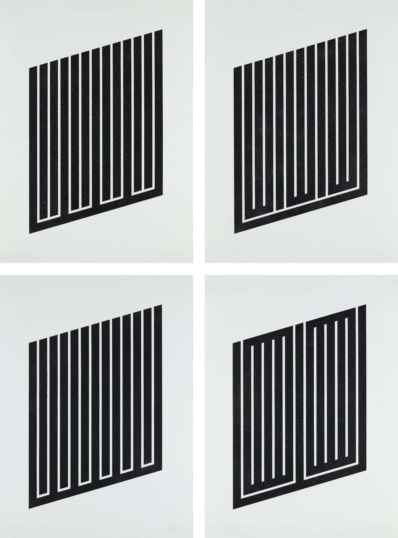 Donald Judd-Untitled: Four Plates-1979