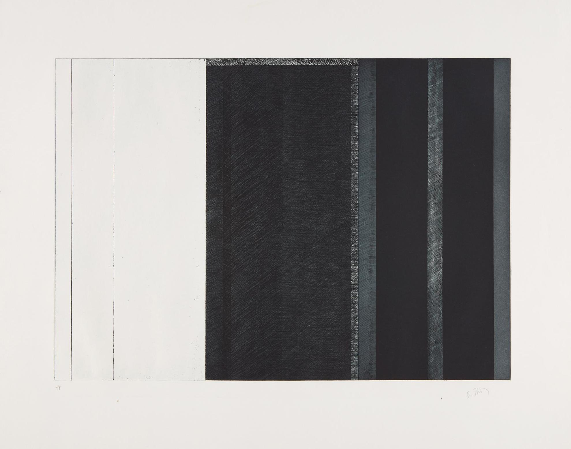 Brice Marden-Untitled, For Five Threes-1977