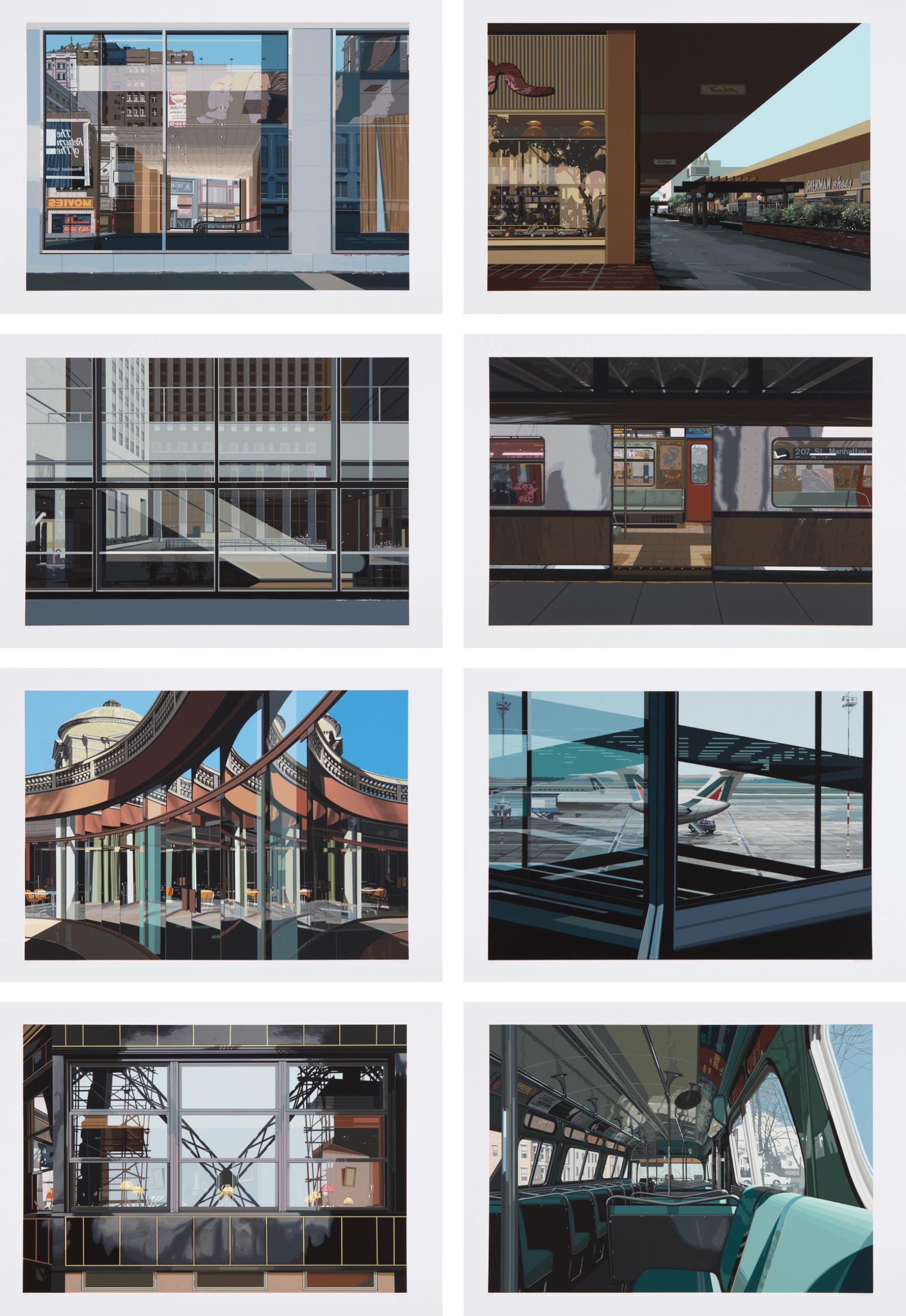 Richard Estes-Urban Landscapes No. 3-1981