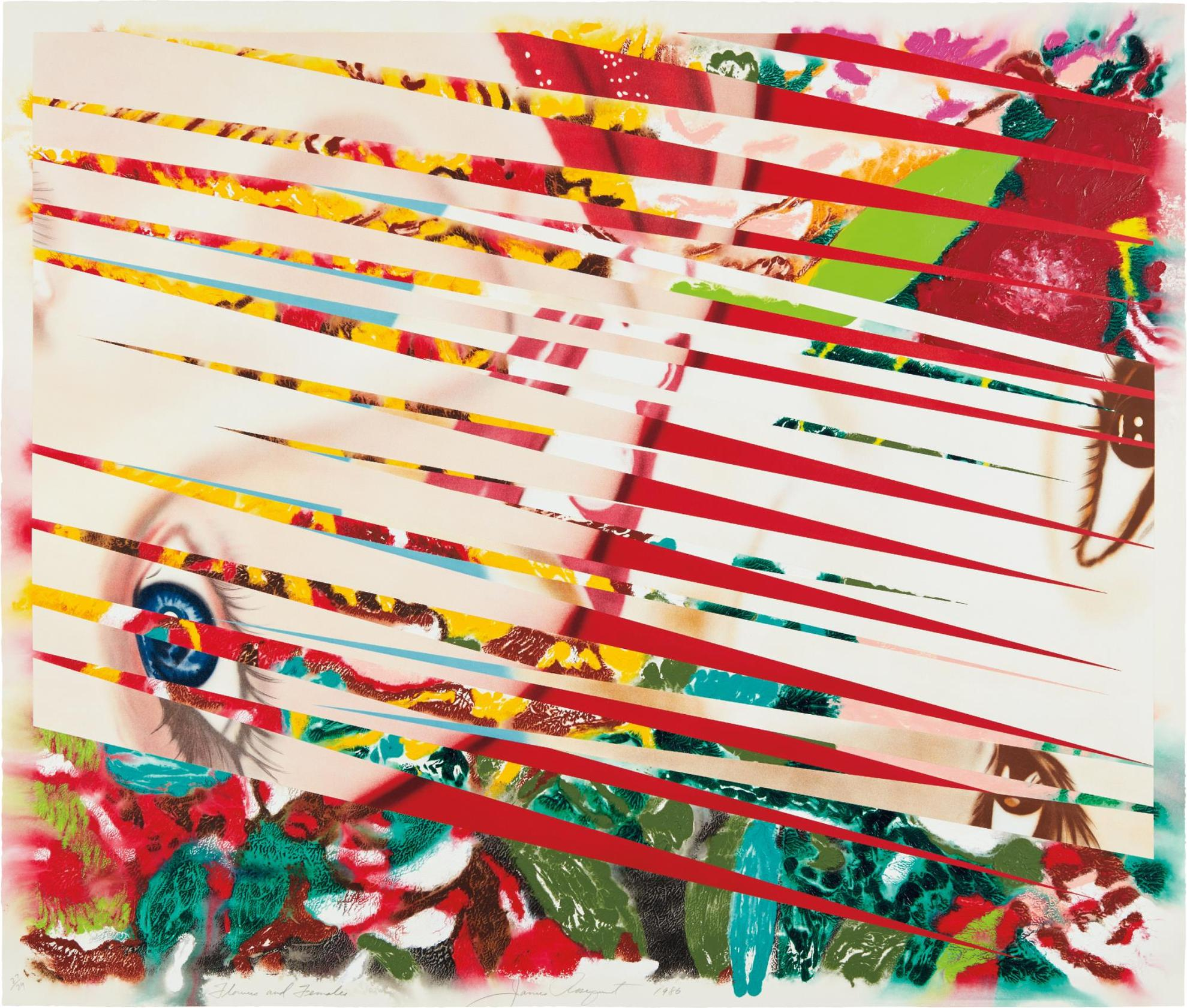 James Rosenquist-Flowers And Females-1986