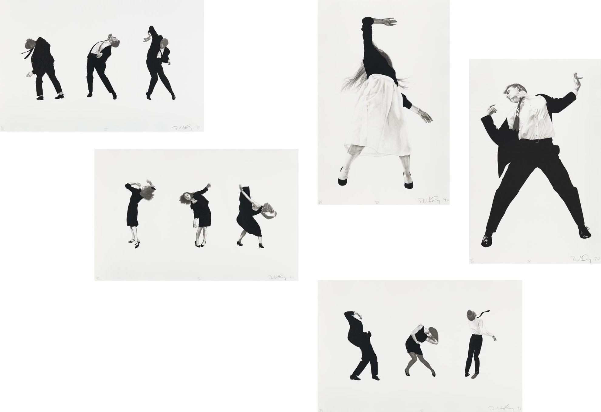 Robert Longo-Men In The Cities-1990