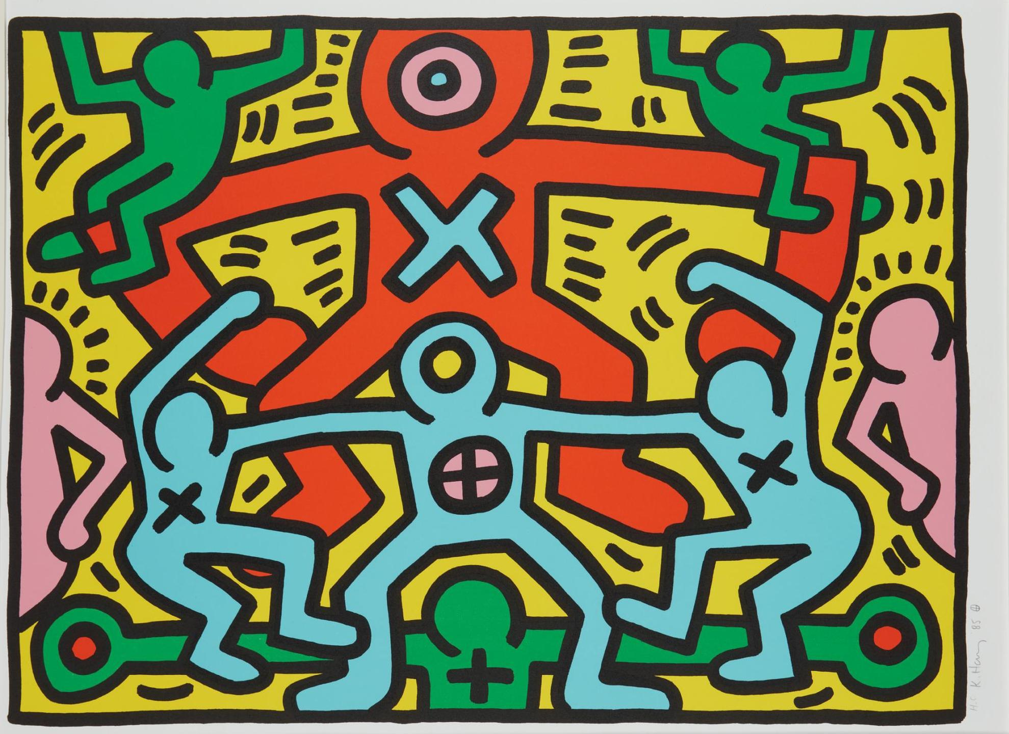 Keith Haring-Untitled-1985