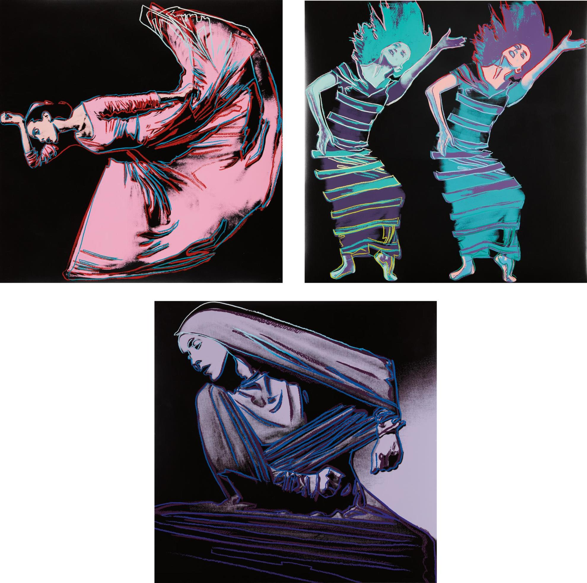Andy Warhol-Martha Graham-1986