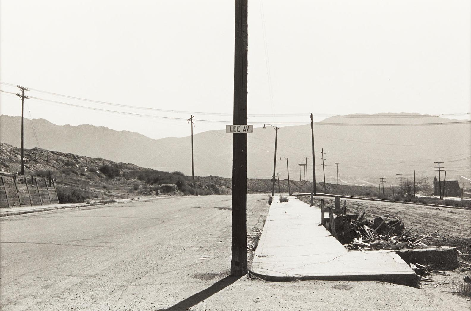Lee Friedlander-Butte, Montana-1970