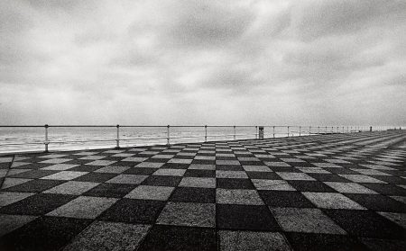 Michael Kenna-Seafront, Hastings, Sussex-1982