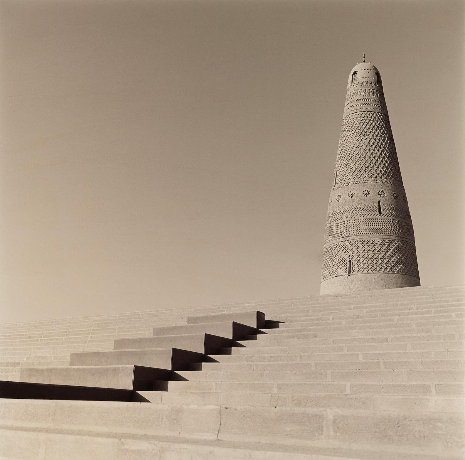 Lynn Davis-Emin Minaret Of Suleiman Mosque, Turpan, China-2001