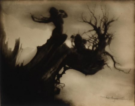 Anne W. Brigman - The Storm Tree-1911