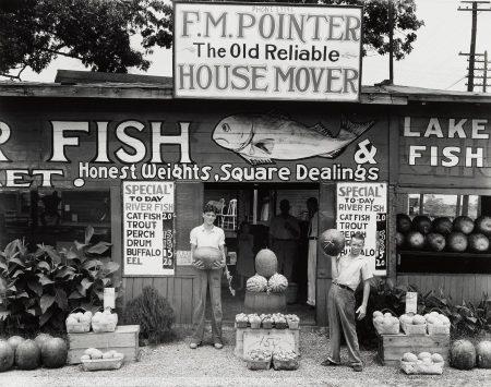 Walker Evans-Roadside Stand, Near Birmingham, Alabama-1936