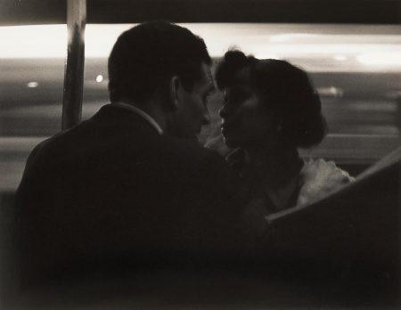 Roy DeCarava-Couple Talking, Subway Platform-1952