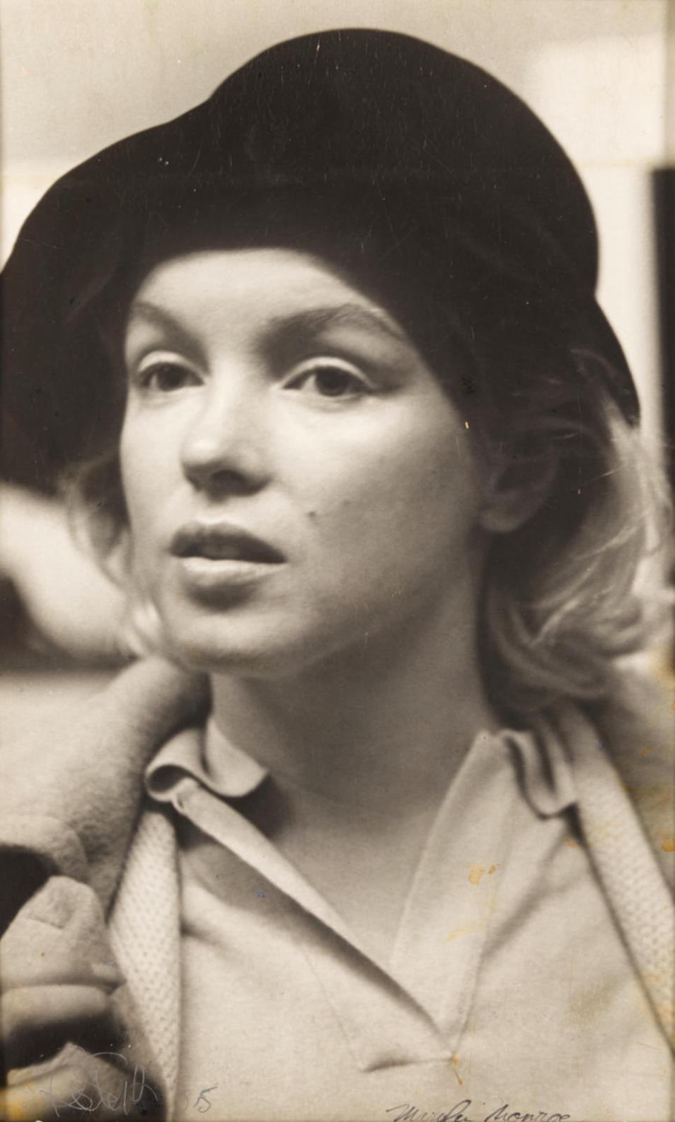Roy Schatt-Marilyn Monroe-1955