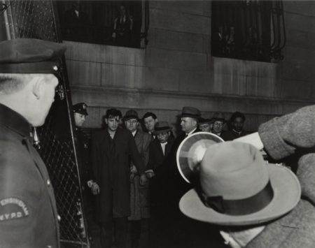 Weegee-The Scum Of The Underworld Arrives For A Line-Up...-1945