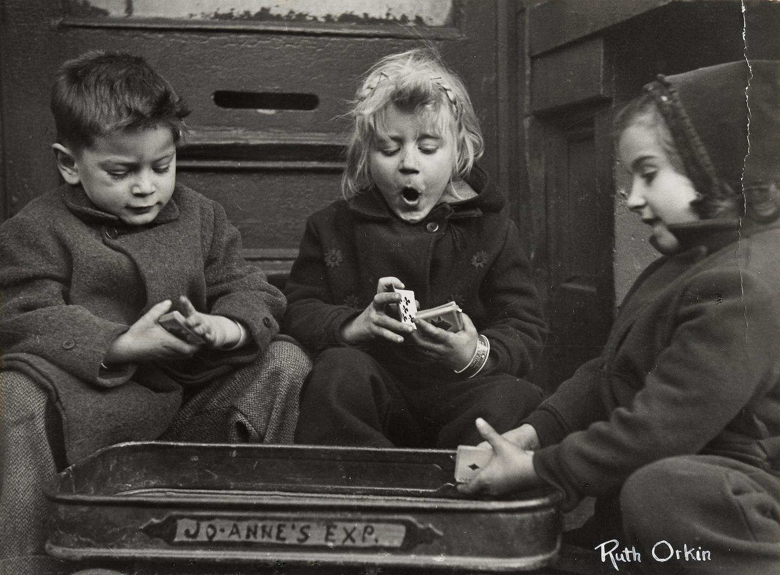 Ruth Orkin-The Card Players-1947