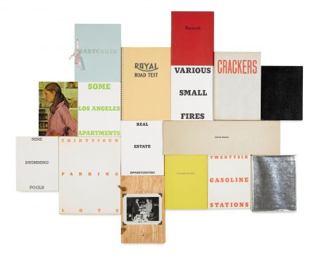 Ed Ruscha-Complete Set Of 16 Artists Books 16-1973