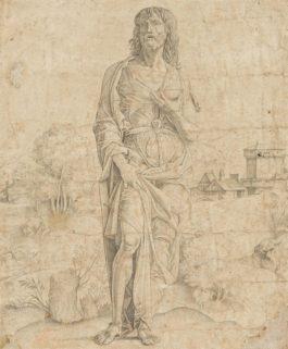 Giulio Campagnola - Saint John The Baptist-1505