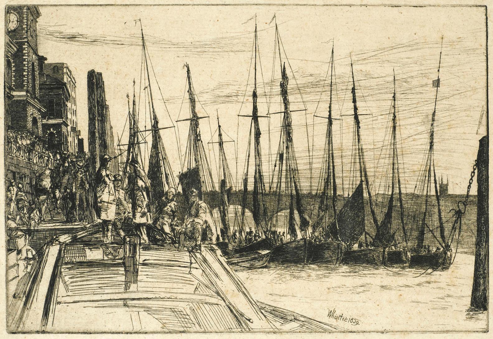 James Abbott McNeill Whistler-Billingsgate-1859