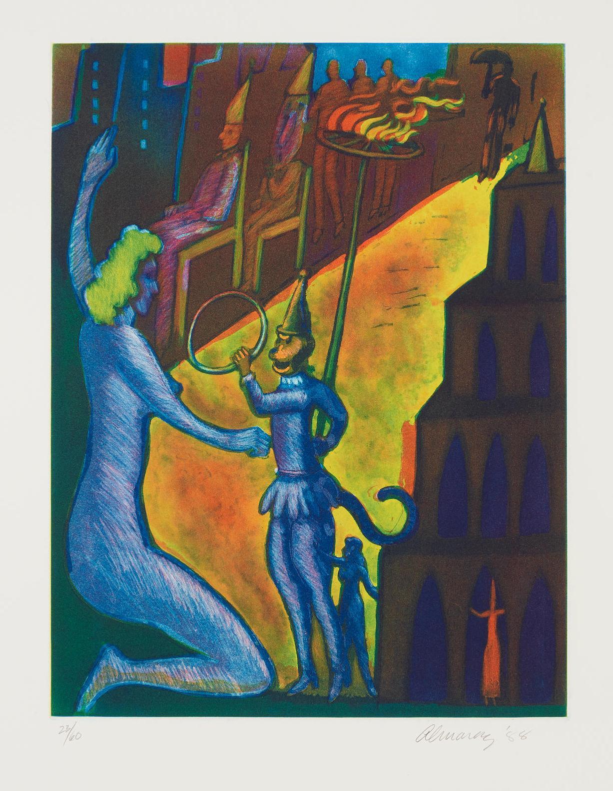 Carlos Almaraz-The Citadel-1988