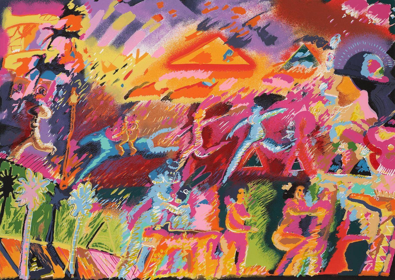 Carlos Almaraz-Whatever Happened To The Inca?-1985