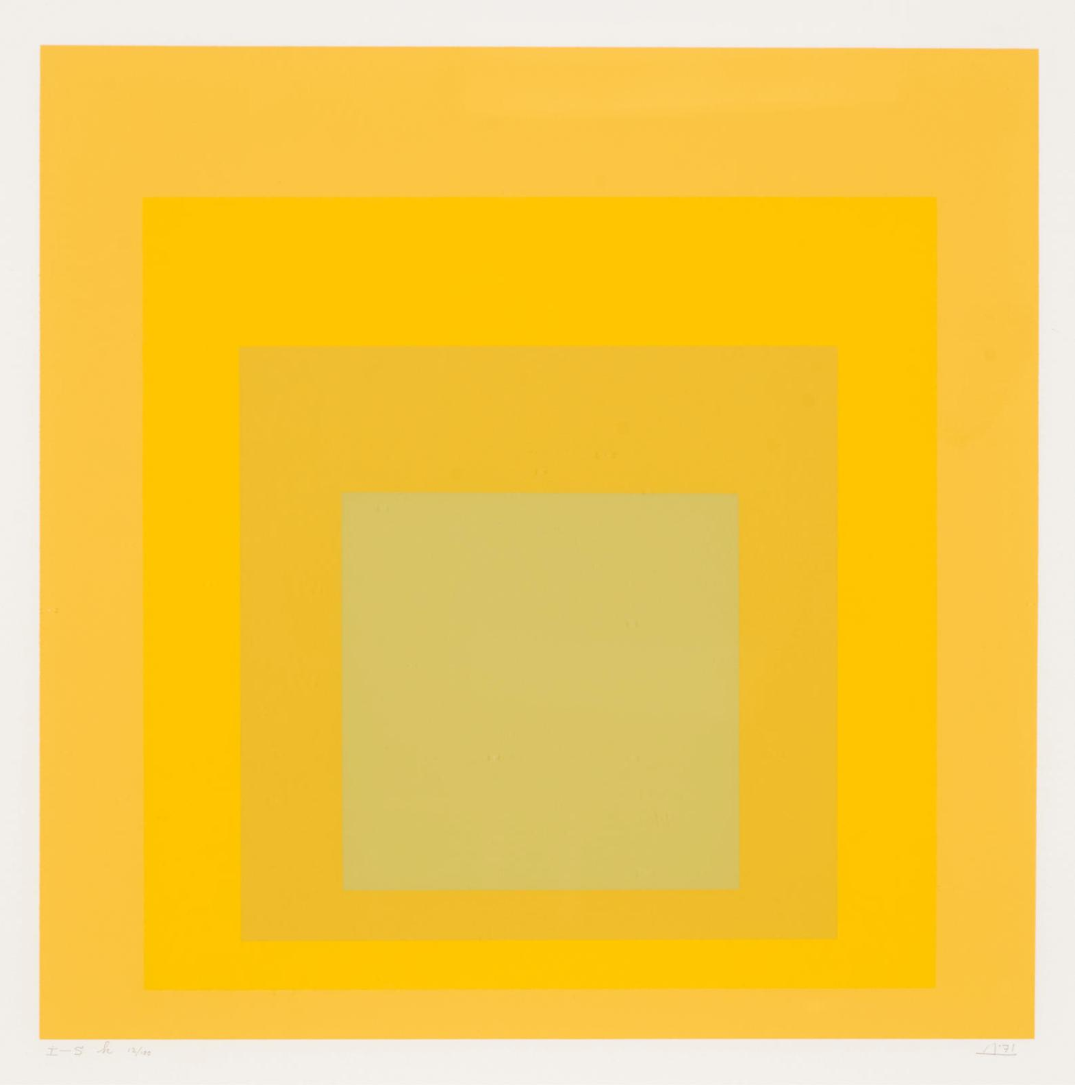 Josef Albers-I-S H-1971