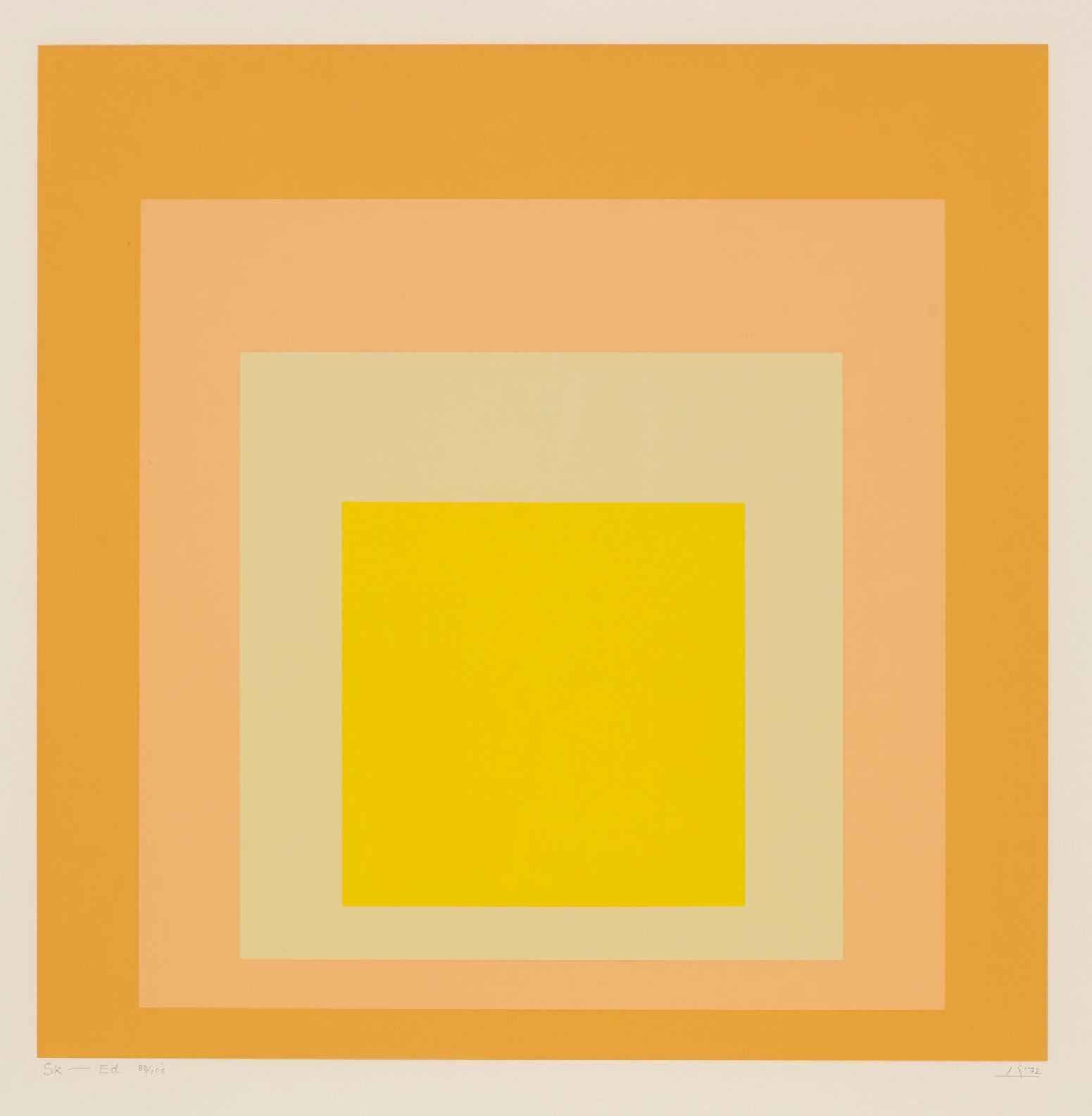 Josef Albers-Sk-Ed-1972