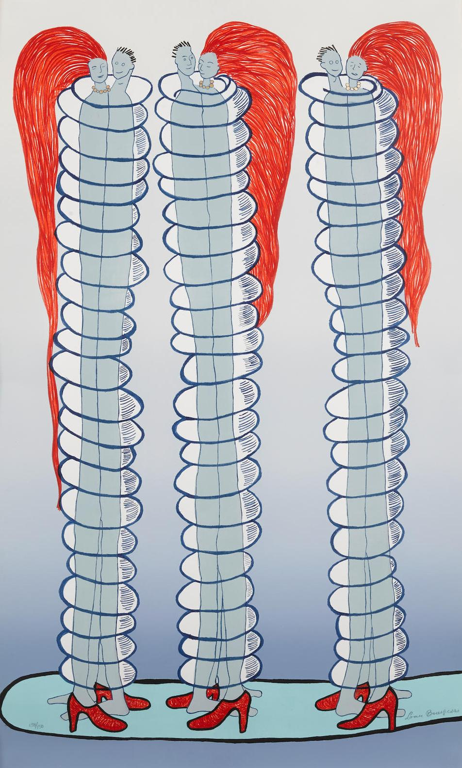 Louise Bourgeois-Couples-2001