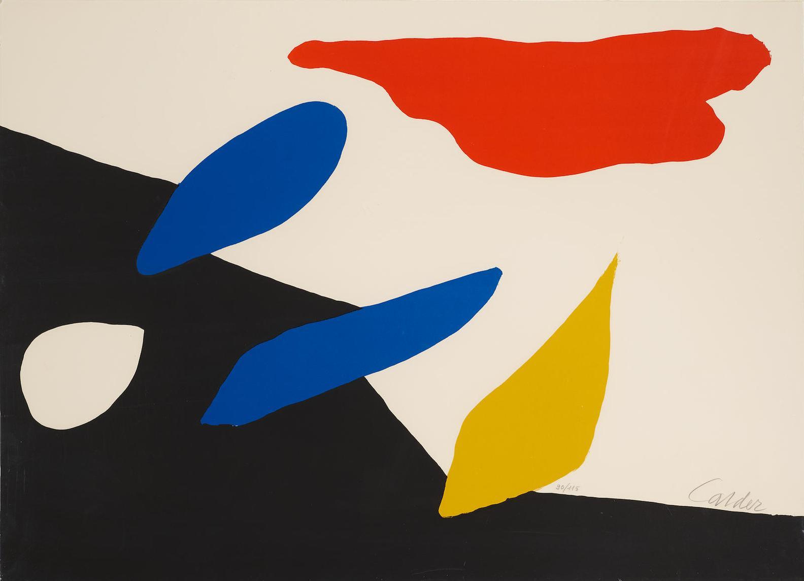 Alexander Calder-Untitled (Red Cloud)-