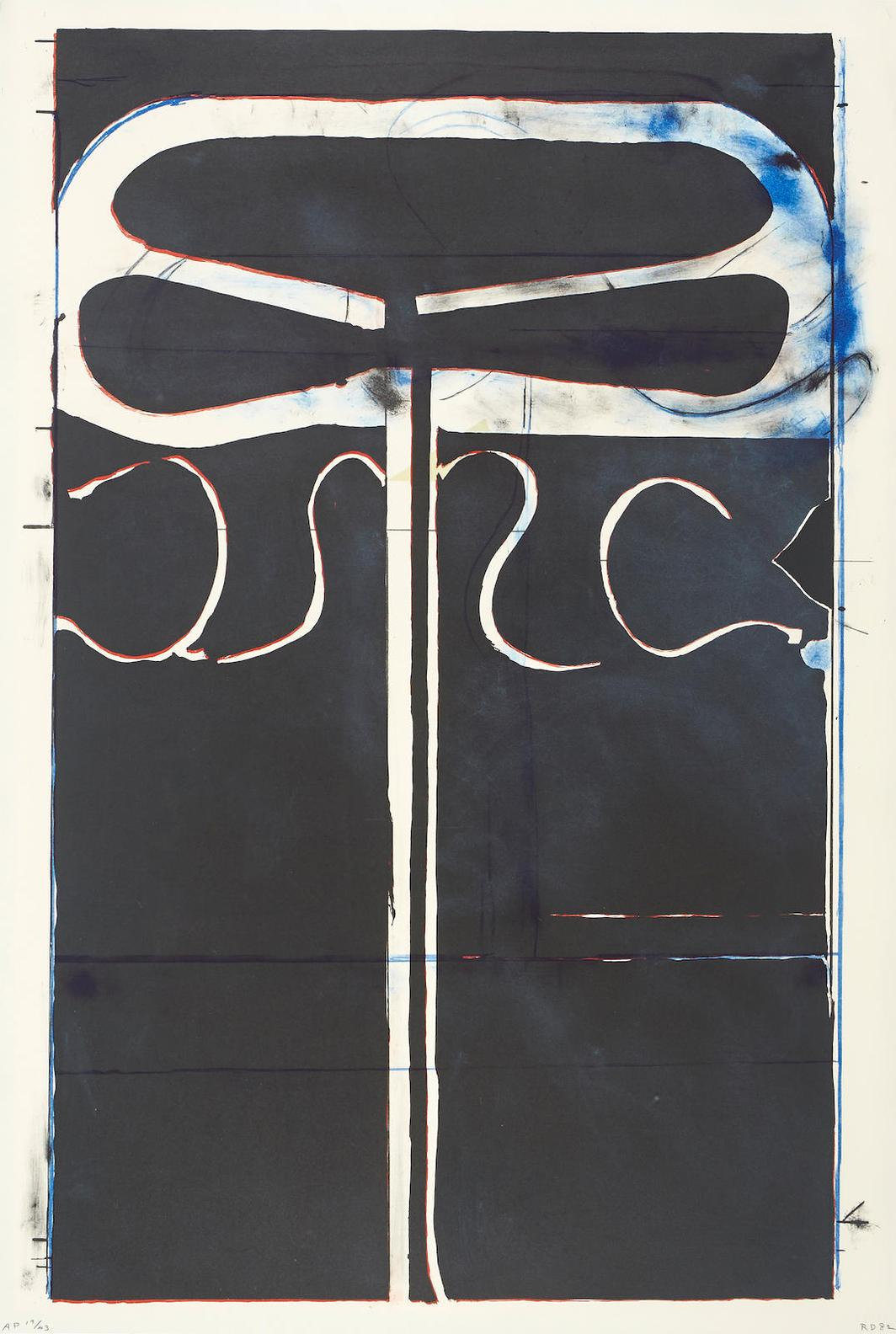 Richard Diebenkorn-Untitled (From Club/Spade Group 81-82), From Eight By Eight To Celebrate The Temporary Contemporary-1982