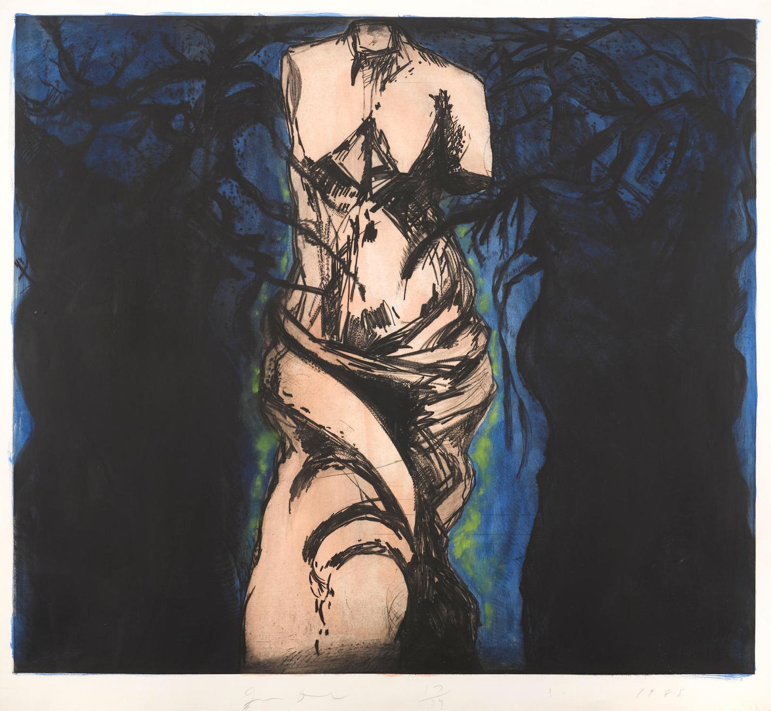 Jim Dine-Rise Up, Solitude!-1985