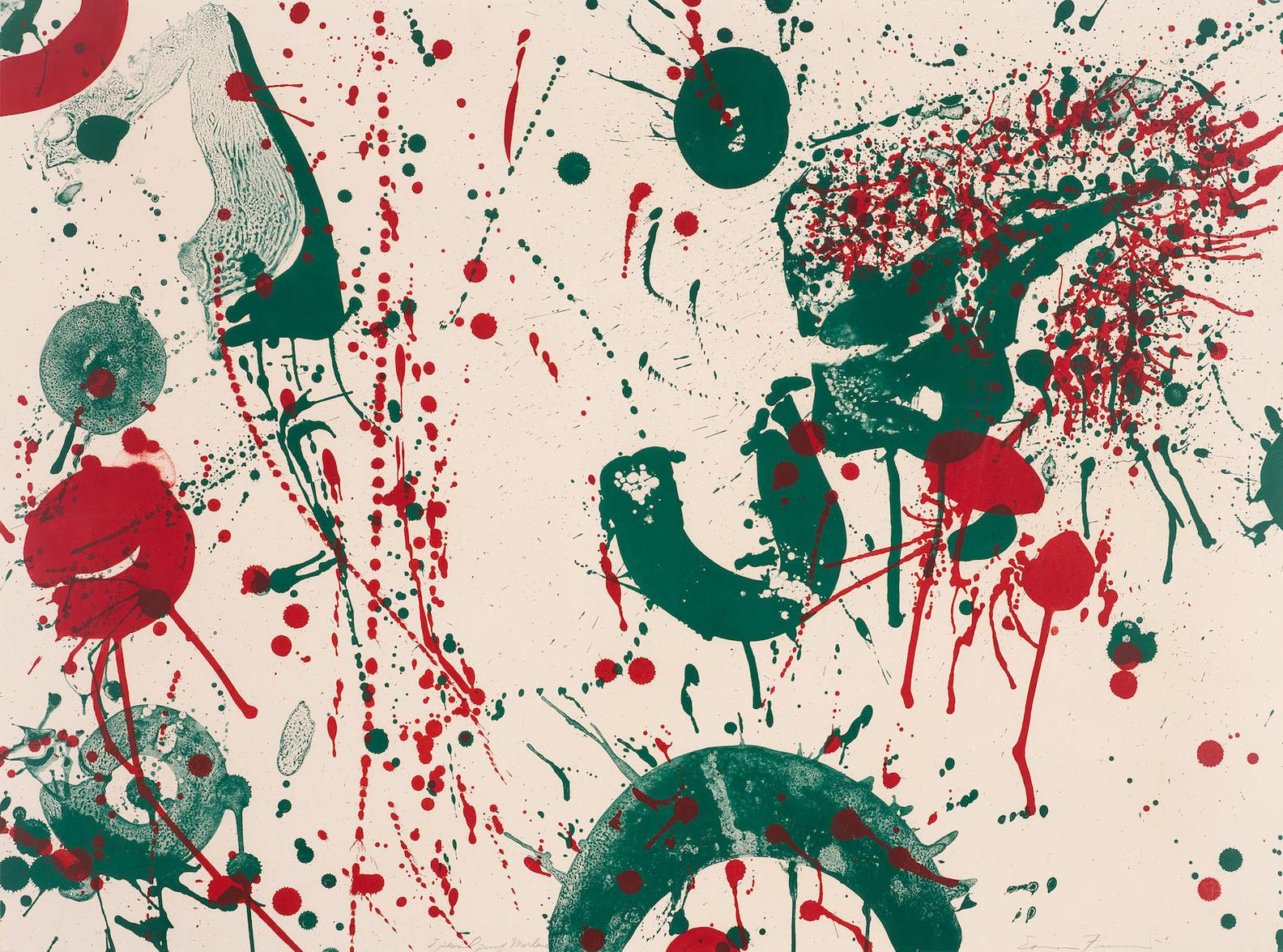 Sam Francis-Untitled-1963