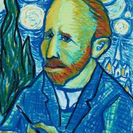 Red Grooms-Starry Night, Homage To Van Gogh-1988