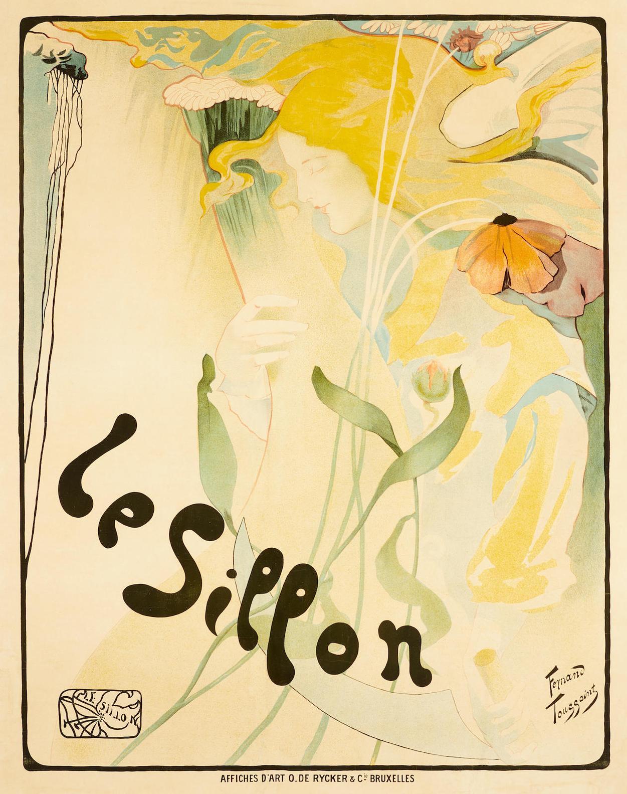 Fernand Toussaint - Le Sillon-1895