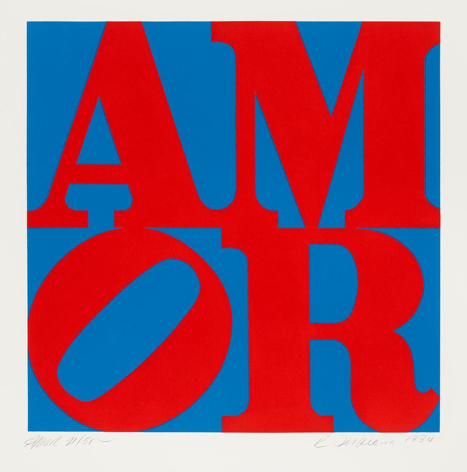 Robert Indiana-Amor-1994