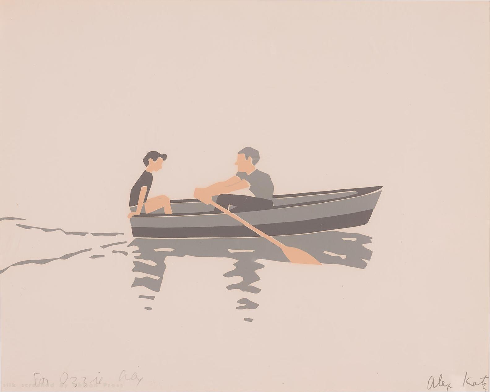 Alex Katz-Rowboat-1966