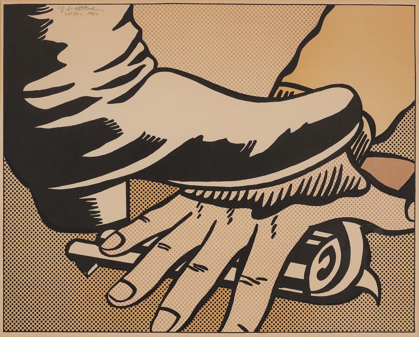 Roy Lichtenstein-Foot And Hand-1964