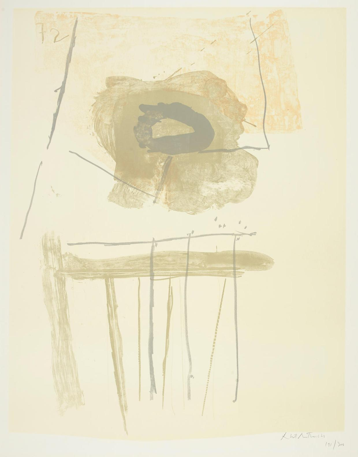 Robert Motherwell-Chair-1972