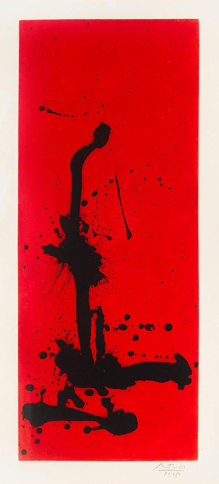 Robert Motherwell-Red Sea III-1983