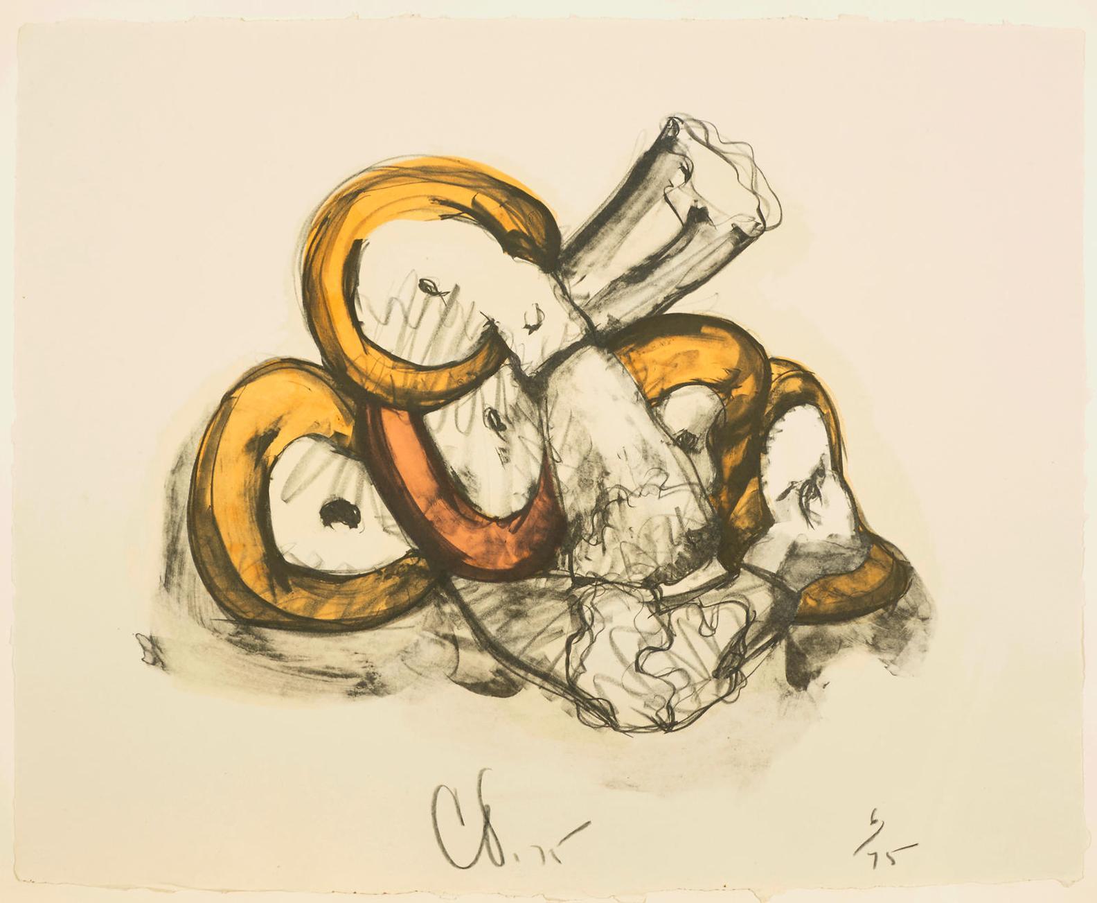 Claes Oldenburg-Pile Of Erasers-1975