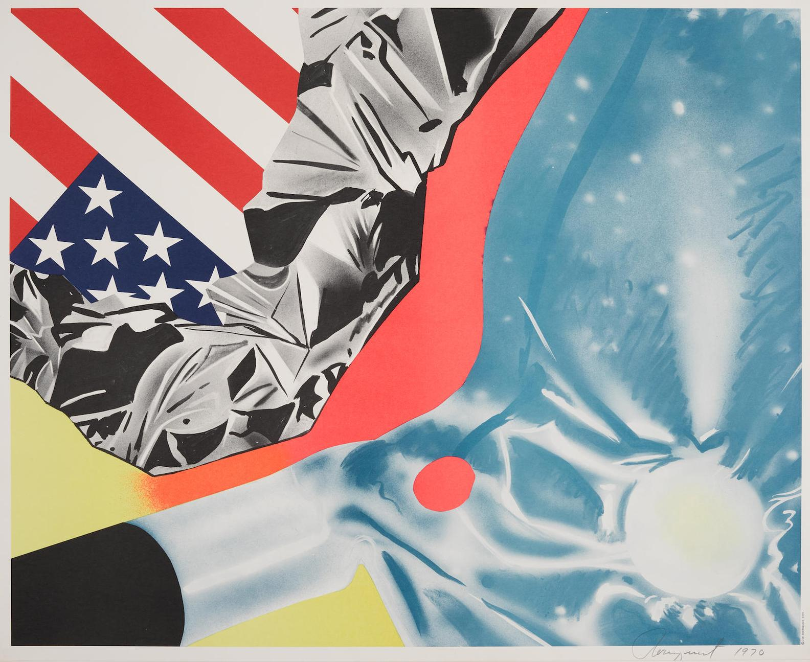 James Rosenquist-Flamingo Capsule (Castelli Poster)-1970