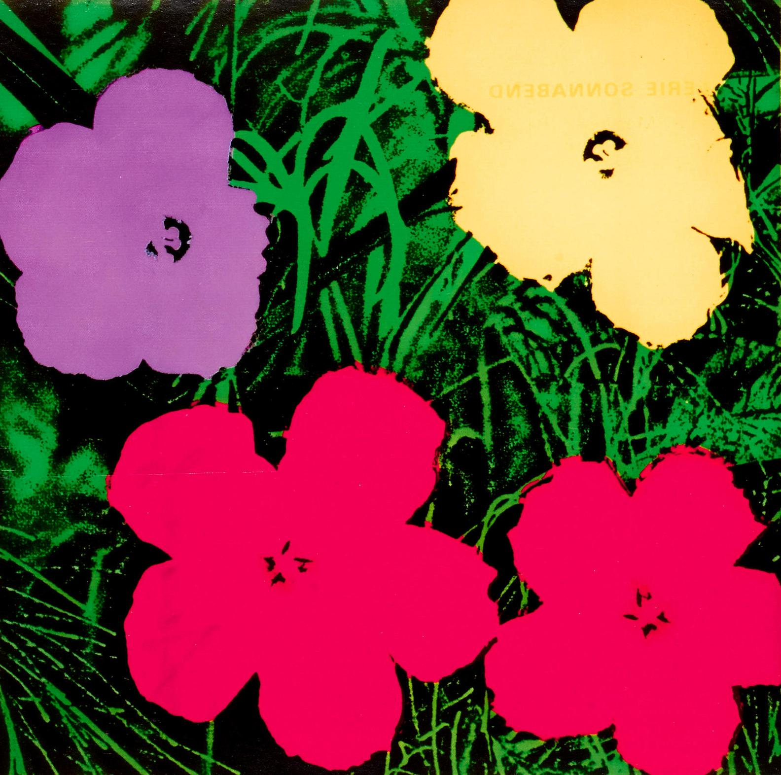 Andy Warhol-Flowers (Sonnabend Invitation)-1970