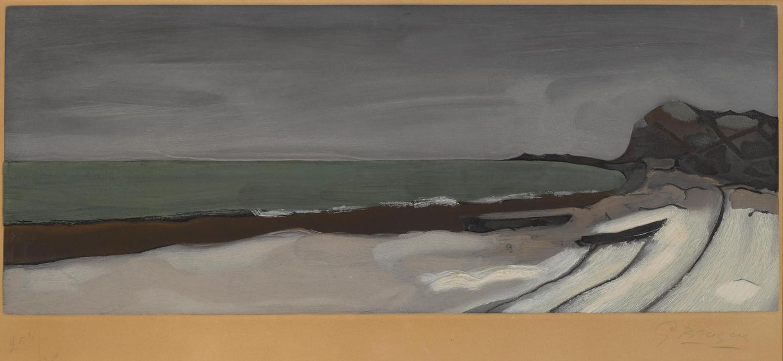 After Georges Braque - Varengeville-1955