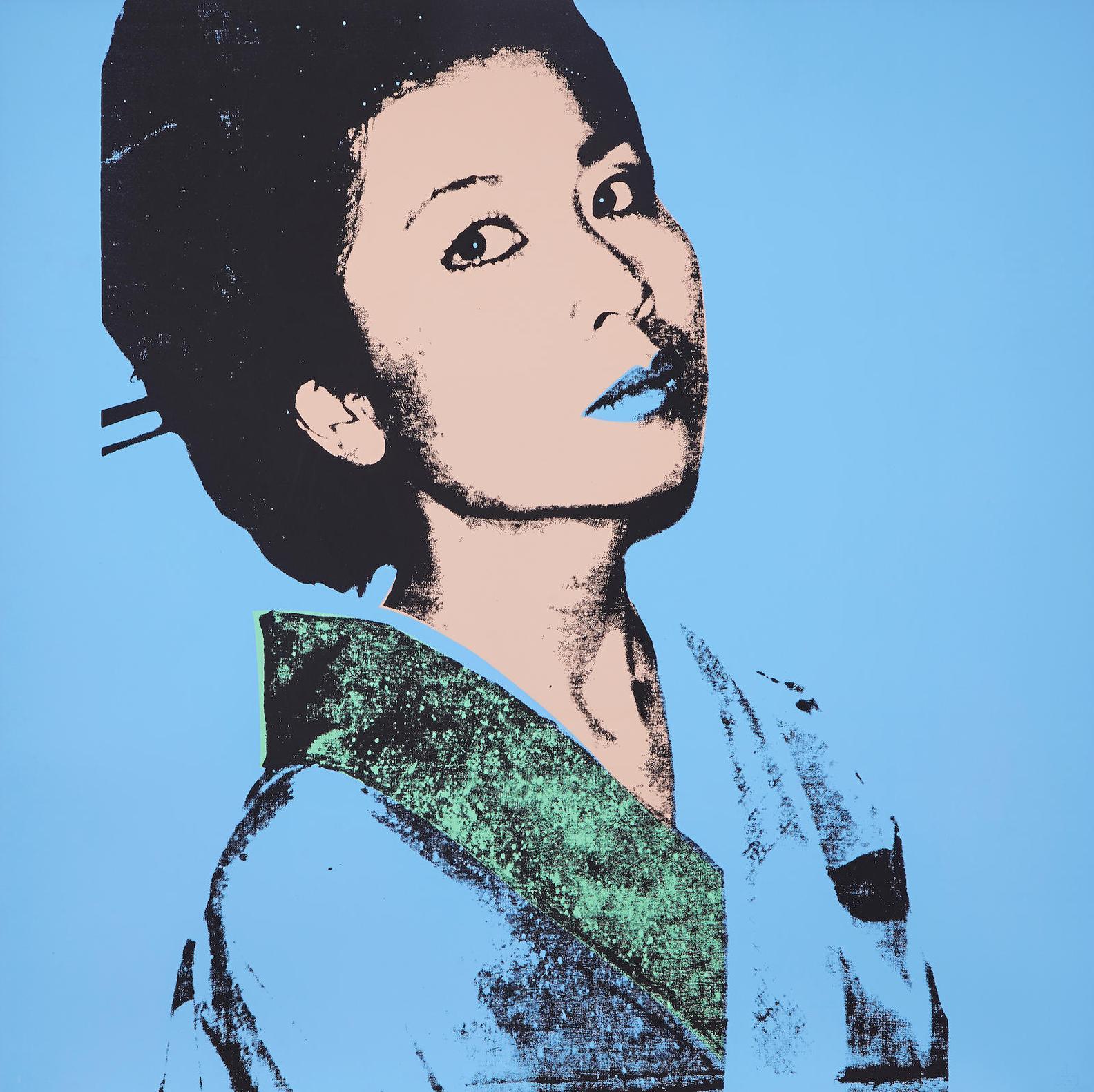 Andy Warhol-Kimiko-1981