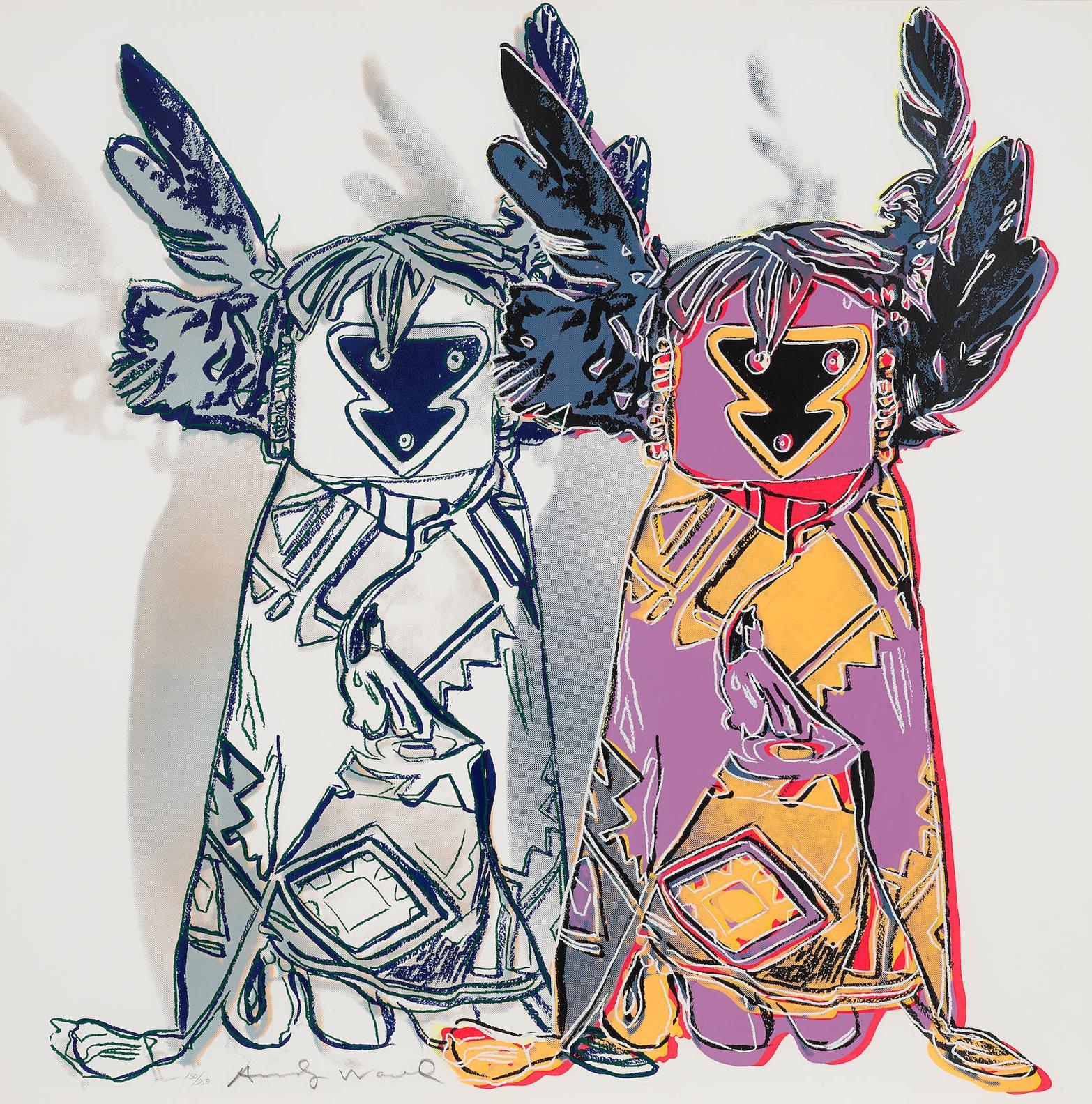 Andy Warhol-Kachina Doll-1986