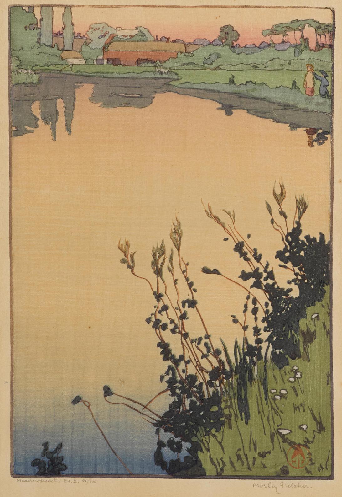 Frank Morley Fletcher - Meadowsweet-1897