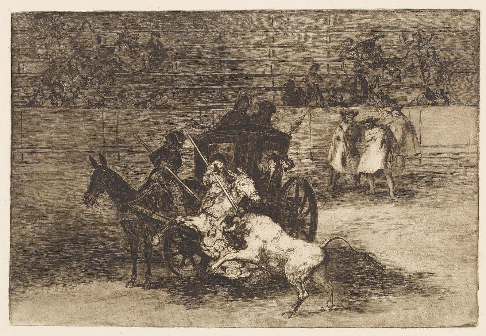 Francisco Jose de Goya y Lucientes - From La Tauromaquia 30-1905