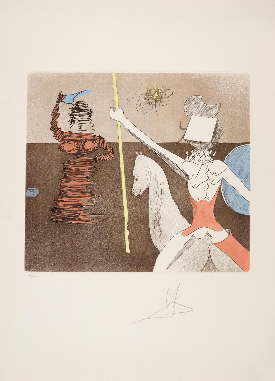 Salvador Dali-Historia De Don Quichotte De La Mancha 12-1981