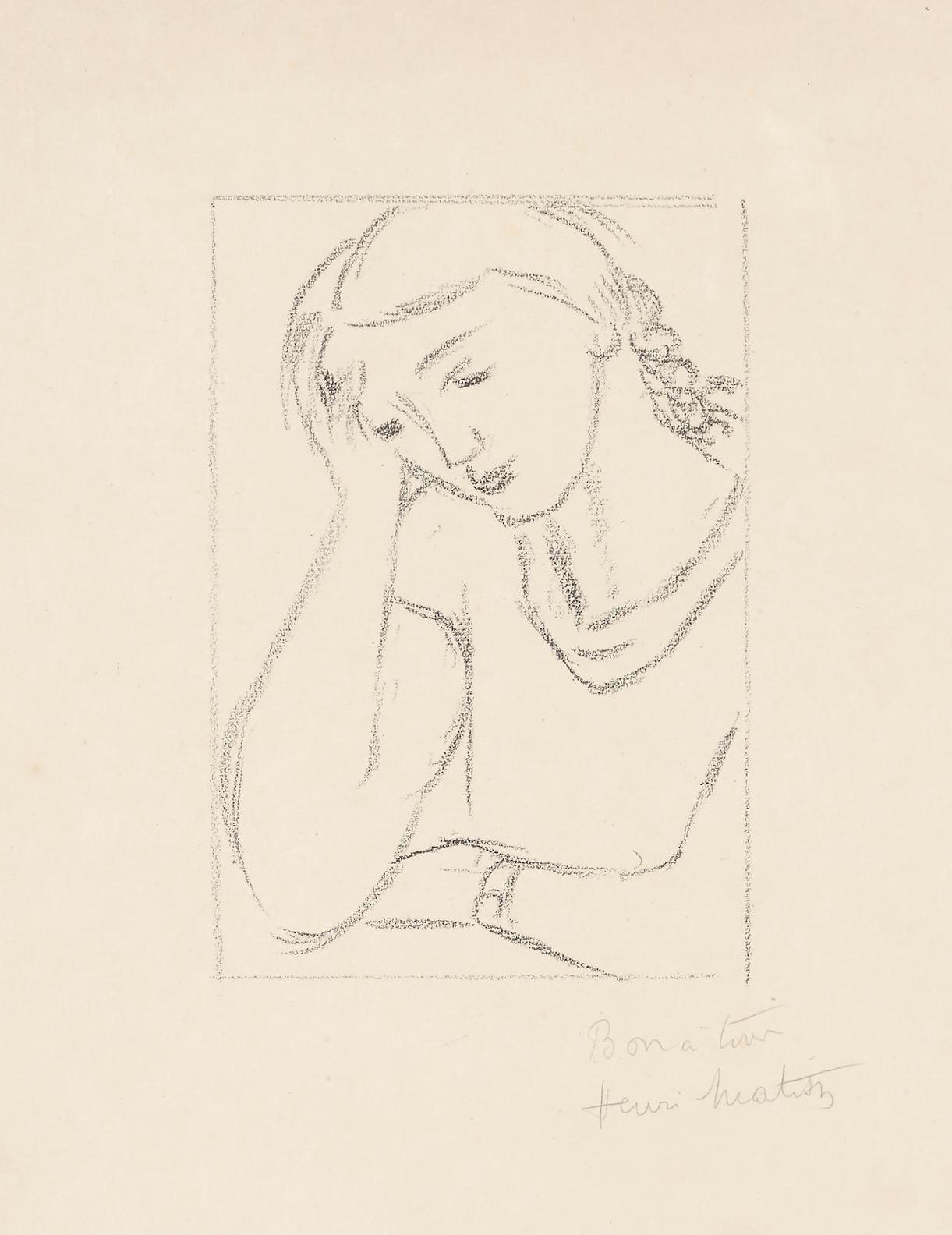 Henri Matisse-Lassitude-1925