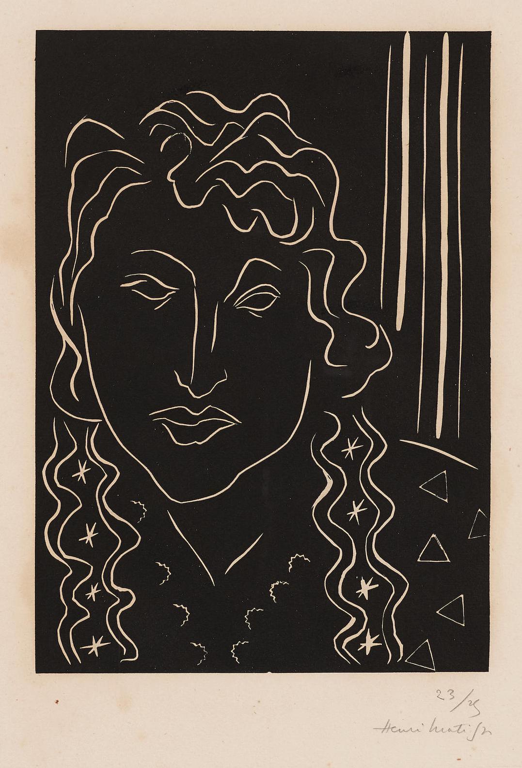 Henri Matisse-La Belle Tahitienne-1938