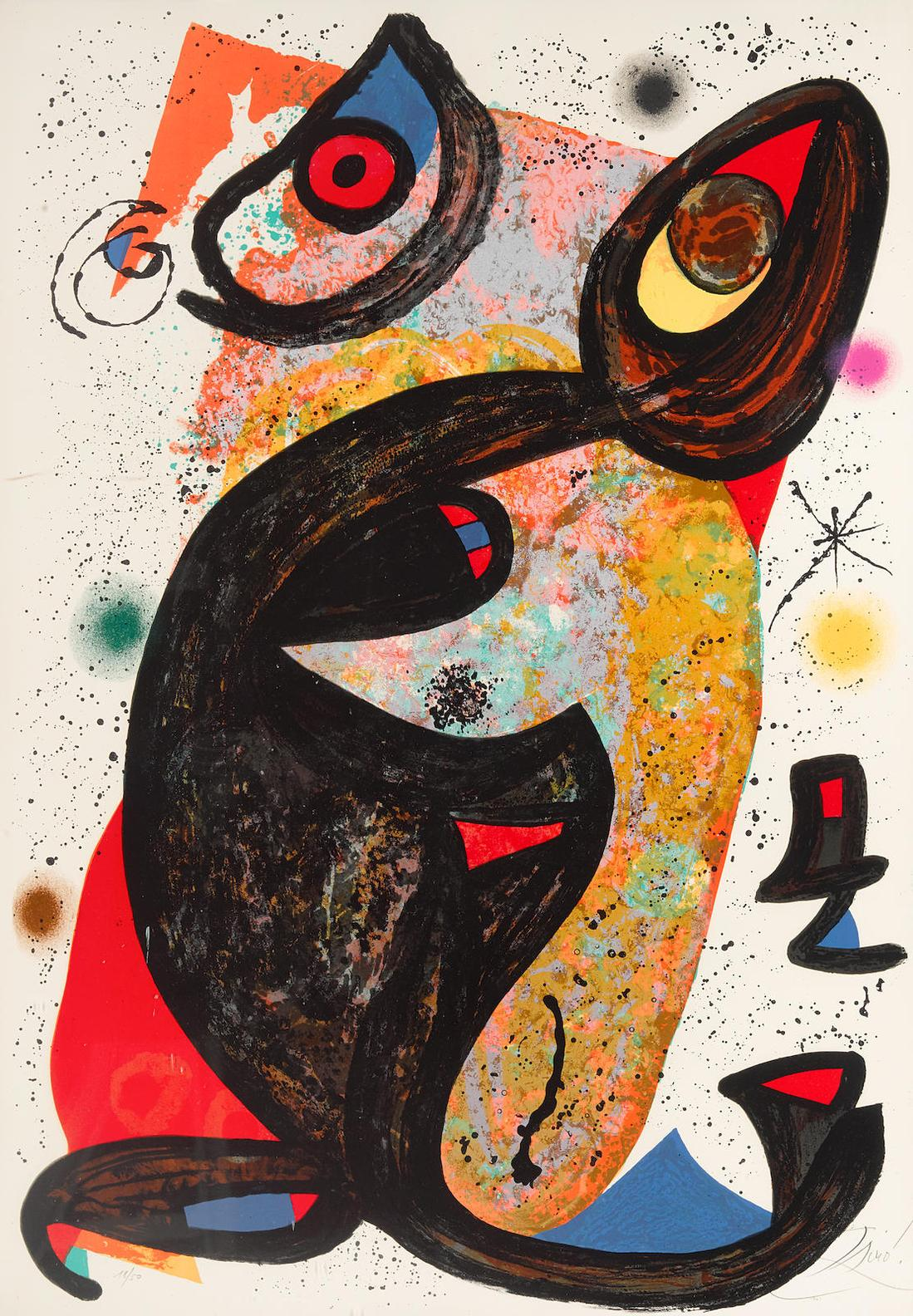Joan Miro-Onesime-1975