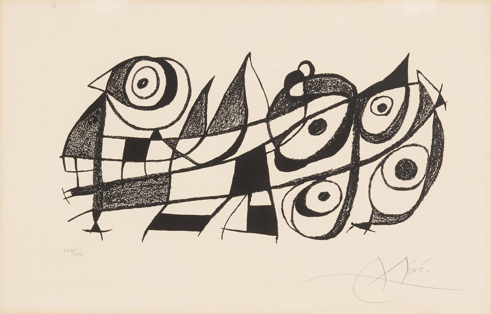 Joan Miro-Miro Sculptor-1970