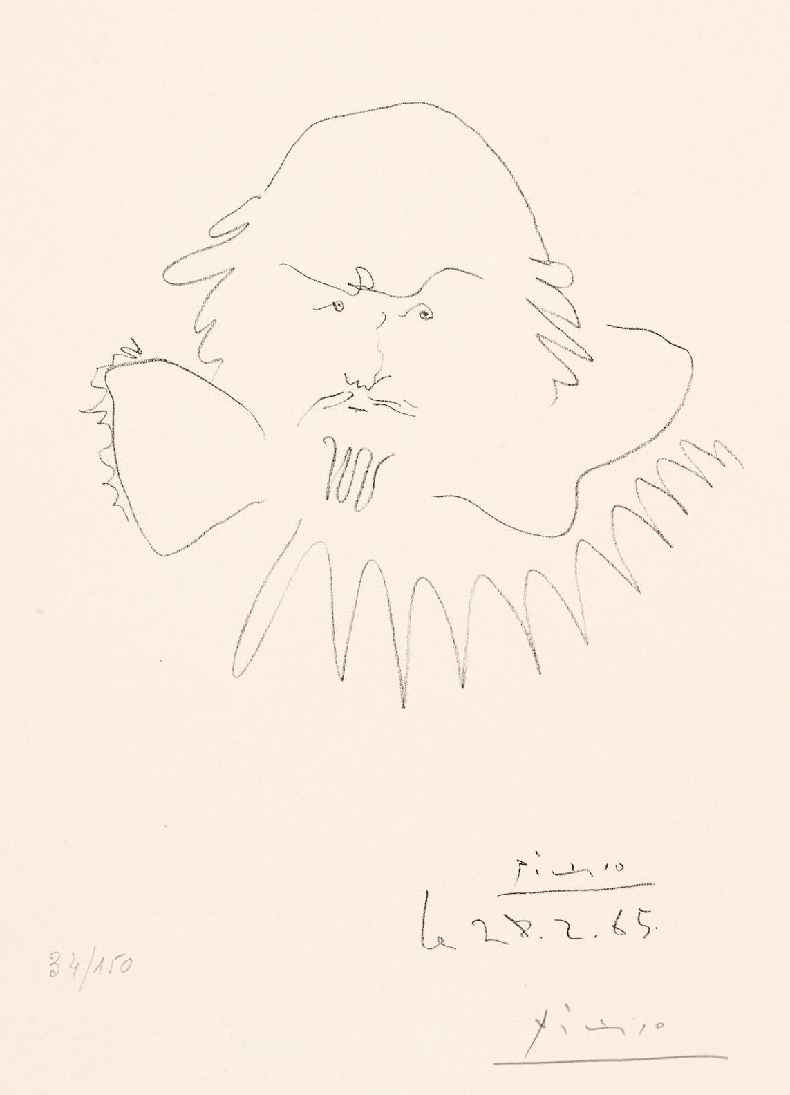Pablo Picasso-Shakespeare-1965